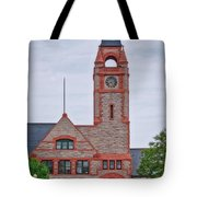Union Pacific Railroad Depot Cheyenne Wyoming 01 Tote Bag
