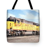 Union Pacific Up - Railimages@aol.com Tote Bag