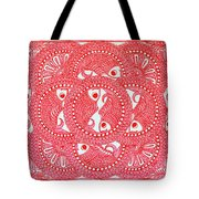 Union  Red Tote Bag