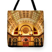 Union Station Balcony Tote Bag by Kristin Elmquist