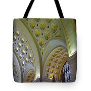 Union Station Ceiling Tote Bag