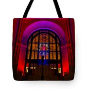 Union Station Decked Out For The Holidays Tote Bag