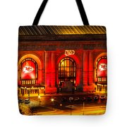 Union Station In Chiefs Red Tote Bag