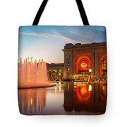 Union Station Kansas City Chiefs Tote Bag