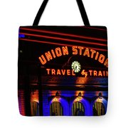 Union Station Lights Tote Bag
