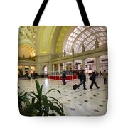 Union Station Main Hall And Waiting Room Tote Bag