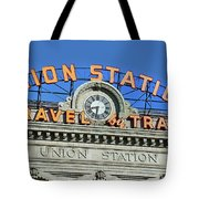 Union Station Sign Tote Bag