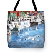 Union Wharf Tote Bag