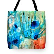 Unique Art - A Touch Of Red - Sharon Cummings Tote Bag