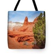 Unique Desert Beauty At Kodachrome Basin State Park Tote Bag