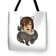 Unique Female Cats Tote Bag