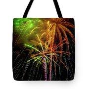 Unique Fireworks Tote Bag