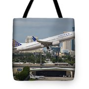 United Airlines Tote Bag