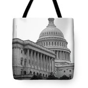 United States Capitol Building 4 Bw Tote Bag