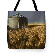 United States, Kansas Wheat Field Tote Bag