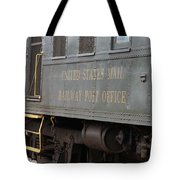 United States Mail Railway Post Office Box Car Tote Bag