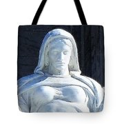 United States Supreme Court, The Contemplation Of Justice Statue, Washington, Dc 4 Tote Bag
