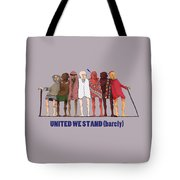 United We Stand Transparent Background Tote Bag
