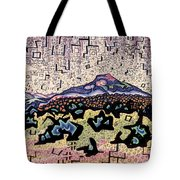Unity Awareness In The Field Of Space And Time Tote Bag