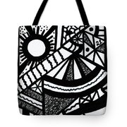Night And Day 2 Tote Bag