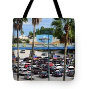 Universal Florida Parking Entrance Tote Bag