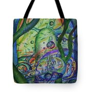 Universal Forest. Tote Bag