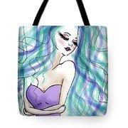 Universe Girl Tote Bag