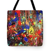 Universe Spaces Splash Tote Bag