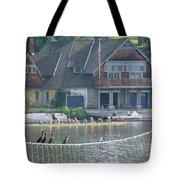 University Barge Club - Philadelphia  Tote Bag