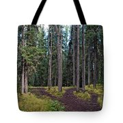 University Of Alaska Fairbanks Trail System Tote Bag