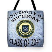 University Of Michigan Class Of 2041 Tote Bag