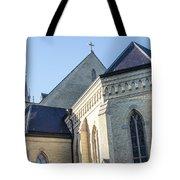 University Of Notre Dame Basilica  Tote Bag