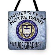 University Of Notre Dame Future Graduate Tote Bag