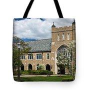 University Of Notre Dame Law School Tote Bag