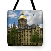 University Of Notre Dame Main Building 1879 Tote Bag