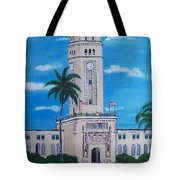 University Of Puerto Rico Tower Tote Bag