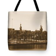 University Of Tampa - Old Postcard Framing Tote Bag