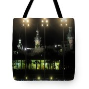 University Of Tampa Lights Tote Bag