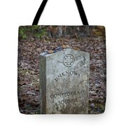 Unknown Confederate Soldier - Natchez Trace Tote Bag
