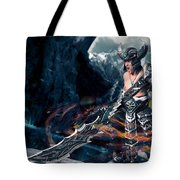 Unleashing Bloodlust  Tote Bag
