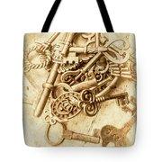 Unlocking The Past Tote Bag