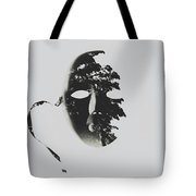 Unmasking In Silence Tote Bag