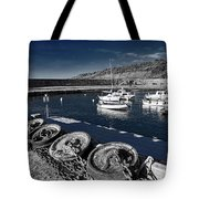 Unplugged At The Harbour - Toned Tote Bag