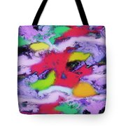 Unpredictable Wave Tote Bag