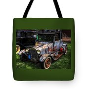 Unruly But Practical Tote Bag