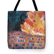 Unseen Battle Tote Bag