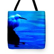 Unseen Chain Of Egret Tote Bag