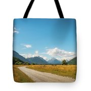 Unspoiled Alpine Scenery From Kinloch-glenorchy Road, Nz Tote Bag
