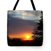 Until We Meet Again- Oregon Sunset Tote Bag