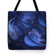 Untitled 01-26-10 Blues Tote Bag